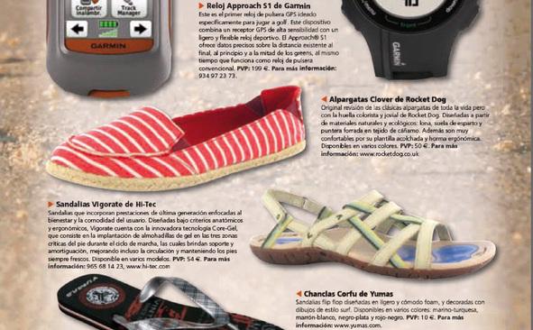 Hi-Tec en la Revista Aire Libre Nº 208