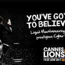 LIQUID MOUNTAINEERING. LEON DE BRONCE EN CANNES LIONS INTERNATIONAL FESTIVAL OF CREATIVITY